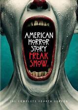 American Horror Story Freak Show: Complete Fourth Season 4  (4 Disc Set) NEW