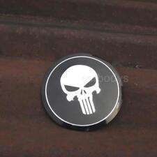 4PCS 90MM Skull Emblem for VW Passat Jetta Golf MK4 Wheel Center Hub Cap