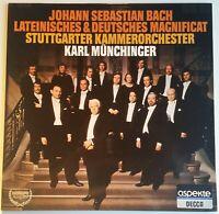 Bach Lateinisches & Deutsches Magnificat Münchinger DECCA Stereo 6.41915