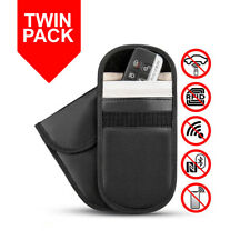 2 x Car Key Signal Blocker Case Keyless Protector Blocking Pouch Sleeve Bag