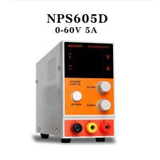 Labornetzgerät Labornetzteil DC Trafo Regelbar Netzgerät 0-60V 0-5A NPS605D