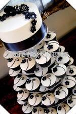 5 Tier Round Cupcake Cake Stand Clear Maypole Acrylic Wedding Baby Christening