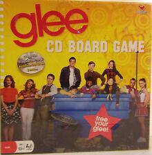 Glee CD Board Game / Fox Television & Cardinal New, sealed 2010