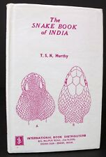 The Snake Book of India by Murthy - 1986
