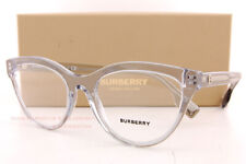 Brand New BURBERRY Eyeglass Frames BE 2311 3825 Grey Crystal For Women Size 53mm