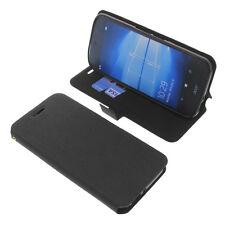 étui pour Acer Liquid Jade Primo style Livre Etui Coque GADGET Noir
