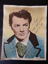 "Cornel Wilde Autographed 8"" X 10"" Photograph from Estate"