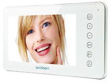 Monitor video Avidsen con suonerie 7 pollici LCD Avidsen 122398 Bianco