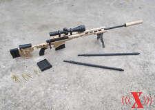 """1/6 X-Toys US Army MSR Modular Full Metal Sniper Rifle USMC F 12"""" Figure#US"""