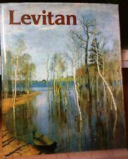 RUSSIAN ART BOOK: LEVITAN Aurora Art Publishers, Leningrad-Helsinki FINNISH TEXT