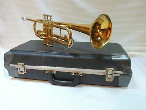 King 600🎺 Cleveland Trumpet EXTRAS Refurbished & MP and Hard Case USA Quality