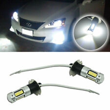 High Power White 6000K H3 30-SMD LED Bulbs Fog Driving Daytime Lights DRL