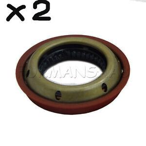 SAAB 900 9-3 9-5 (94-09) 2X OIL DIFFERENTIAL SEALS GENUINE OEM 90542019, 5252689