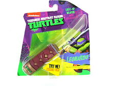 TMNT Teenage Mutant Ninja Turtle Light Up Mini weapon Kids Toy Leonardo Sword