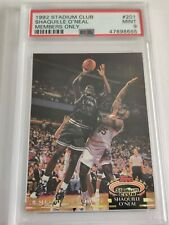 1992 Shaquille O'Neal Stadium Club Member's Only Rookie #201 PSA 9