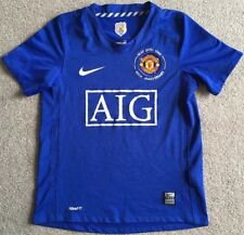 Nike Manchester United 40th Anniversary Collectors Shirt Size Small 8-9 Years
