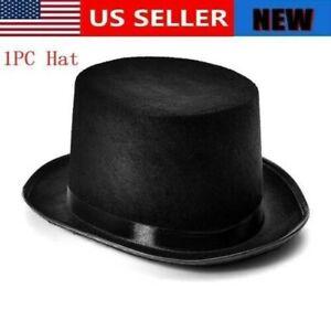 CIVIL WAR US Colonnial Lincoln Dorfman Wool Felt STEAMPUNK MADHATTER TOP HAT New
