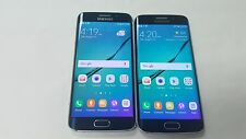 Lot of 2 Samsung Galaxy S6 Edge SM-G925P - 32GB  Black Sapphire (Sprint) 2 Total