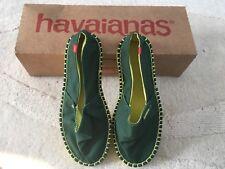 Havainas Espradilles Alp H. Orig 111 Green/Yellow EU Size 35
