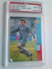 David Beckham Upper Deck 97 ROOKIE CARD - RARE LTD ED (2405/5000) - PSA 8