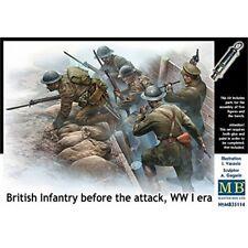 Masterbox 1:35 - Britishinfantry Before The Attack WWI - 135 British Era Scale