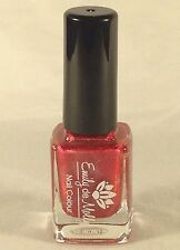 Emily De Molly Nail Polish Indie 'Seeing Red' Holographic