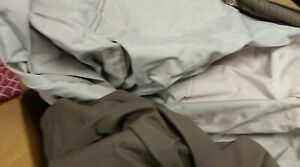 Used Bennett Pontoon Cover 20ft 6 inches by 10ft 10 inches gray w/bimini cutouts