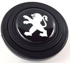 Peugeot steering wheel horn push button. Fits Momo Sparco OMP Nardi Raid etc