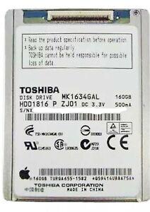 MK1634GAL 160GB Toshiba Hard Drive for an Apple iPod Classic 7th Gen.