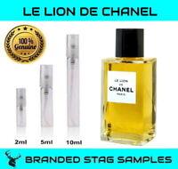 CHANEL - Le Lion De Chanel - Les Exclusifs Sample 2ml 5ml 10ml sizes *NEW LAUNCH