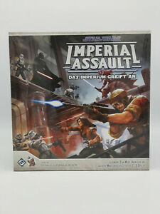 Star Wars Imperial Assault Das Imperium greift an deutsch gebr. guter Zustand