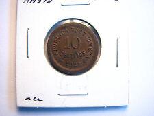 1924 Portugal 10 Centavos KM 573 High grade