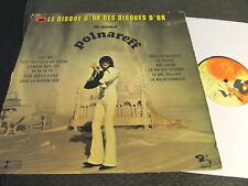 Le Disque d'or des disques de Michel Polnareff LP B2/B2 rare glam folk psych !!