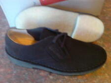 neu clarks original mens ** desert khan 2 ** schwarz ** wildleder uk 9/8.5