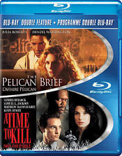 Pelican Brief / A Time To Kill (Blu-ray Disc, 2013, 2-Disc Set) - NEW!!