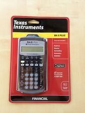 Texas Instruments TI BA II PLUS Financial Calculator, CFA Approved, Brand New