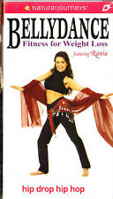 BELLYDANCE: Fitness for Weight Loss - HIP DROP HIP HOP - VHS - FREE SHIP!