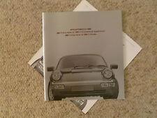 1991 Porsche Full Line 944 911 C2/C44, 911 Turbo DELUXE Brochure RARE!! FRENCH