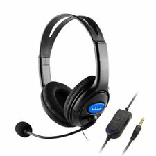 Adjusted Wired Gaming 3.5mm Headset Headphone with Mic Switch For PS4 Xbox 360