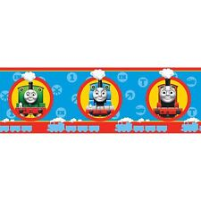 OFFICIAL THOMAS AND FRIENDS WALLPAPER BORDER ROOM DECOR CHILDRENS 5m
