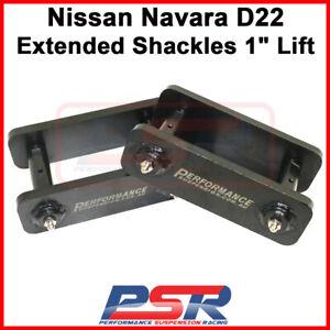 "Nissan Navara D22 Extended Shackles 1"" Lift"