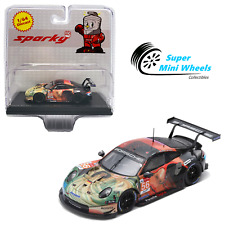 Sparky 1:64 Porsche 911 Rsr No.56 Team Project 1 Winner 24H Le Mans 2019