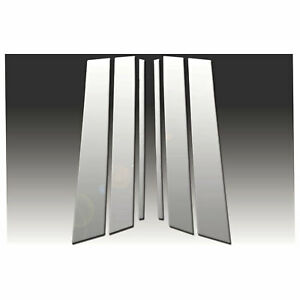 Pillar Post Covers for 2000-2005 Cadillac DeVille [6pc Polished] Premium FX