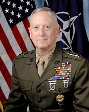 4 Star General James Mad Dog Mattis USMC 8.5x11 Photo