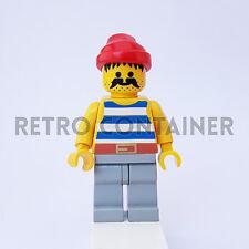 LEGO Minifigures - 1x pi072 - Pirate - Pirati Omino Minifig Set 6259 6261