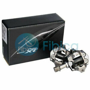 New 2020 Shimano Deore XT PD M8100 Mountain MTB XC SPD Pedals with cleats