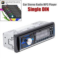 Single DIN Bluetooth AUX USB Car Audio Stereo Radio MP3 Player w/DAB Function