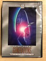Star Trek - Generations (DVD, Widescreen, Special Collectors Ed. 1994) - F0922