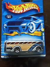 Vintage 2000 Hotwheels - Surfin' Schoolbus - NIP