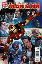 Marvel INVINCIBLE IRON MAN #527 Larroca Final Collage Variant NM
